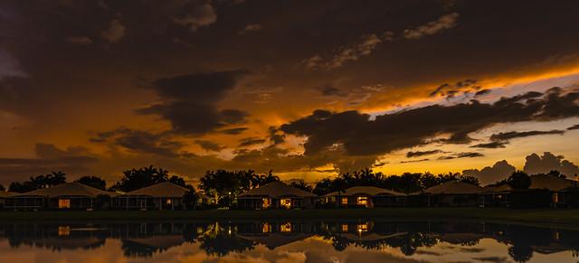 Sunset Majestic Isle South Florida