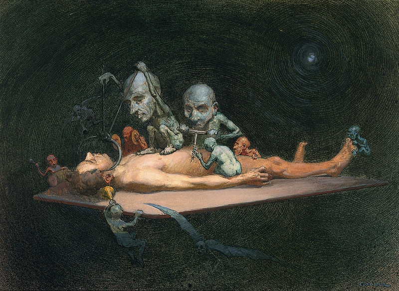 Richard Tennant Cooper  - Representation of Chloroform, 1910-1912