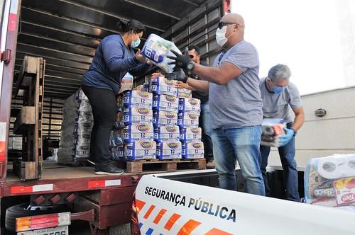 Comitê Covid-19 arrecadou 100 toneladas de doações desde o início da pandemia