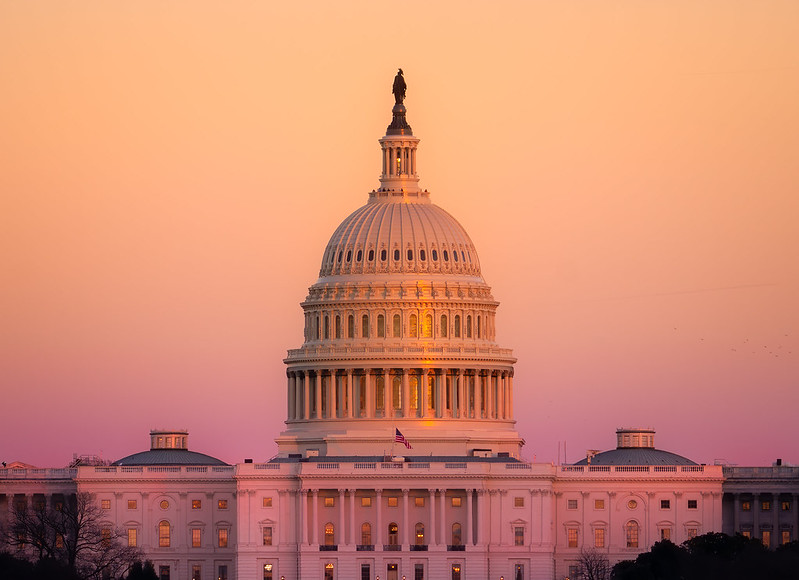 Capitol Dome at Sunset