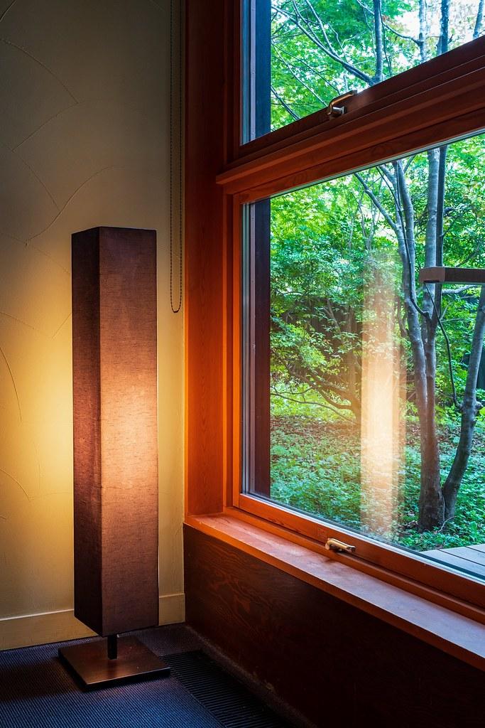 山路地の部屋 灯り
