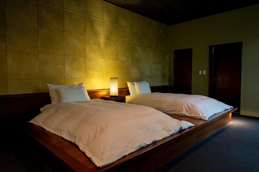 山路地の部屋 ベッドルーム