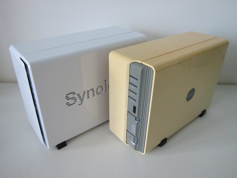 Synology DiskStation DS220j vs Synology DiskStation DS210j