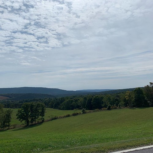 The beautiful mountains in Bedford. From Why Bedford, PA was the Perfect Place for a Mother/Daughter Trip