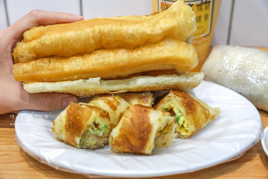 台北宵夜早餐:興安四海豆漿~興安街美食 蛋餅 燒餅油條 豆漿