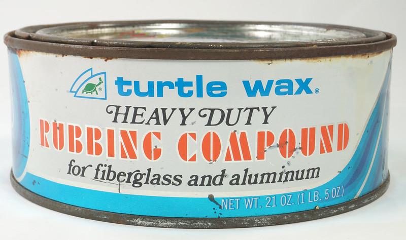 RD19749 Vintage Turtle Wax Heavy Duty Rubbing Compound for Fiberglass & Aluminum Boats 21 oz DSC05157