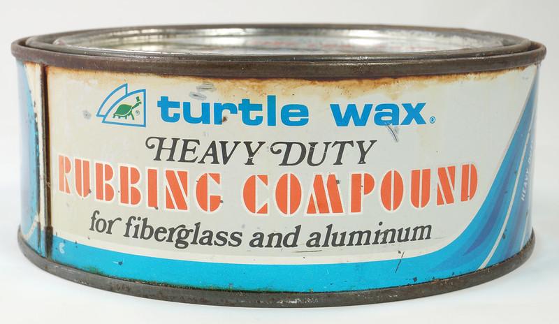 RD19749 Vintage Turtle Wax Heavy Duty Rubbing Compound for Fiberglass & Aluminum Boats 21 oz DSC05155