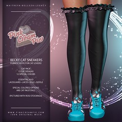 Becky Cat Sneakers @ Fly Buy Friday 5/22