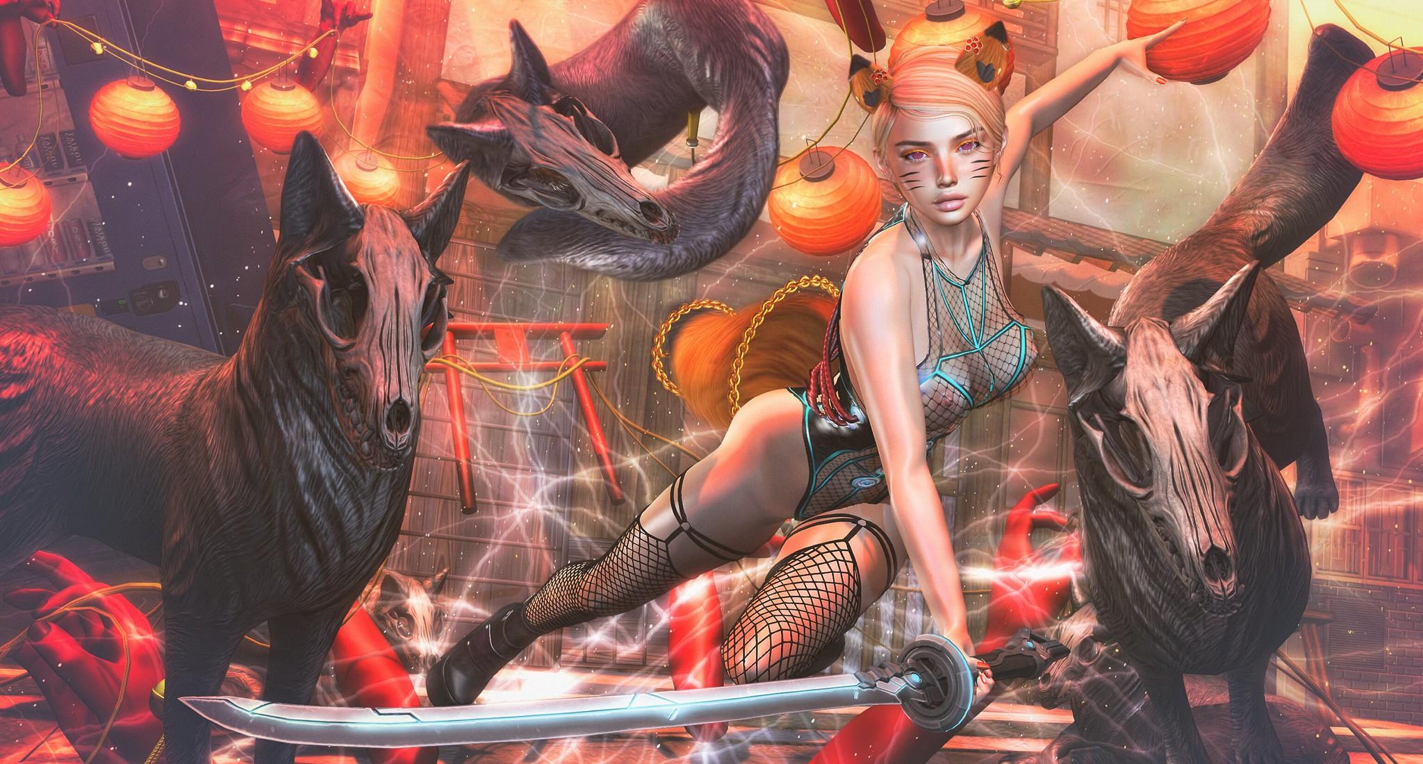 2020 0521 The Forge@ACCESS | Wicca's Originals@ROMP | Enchantment - ANDORE & Poseidon | Harajuku