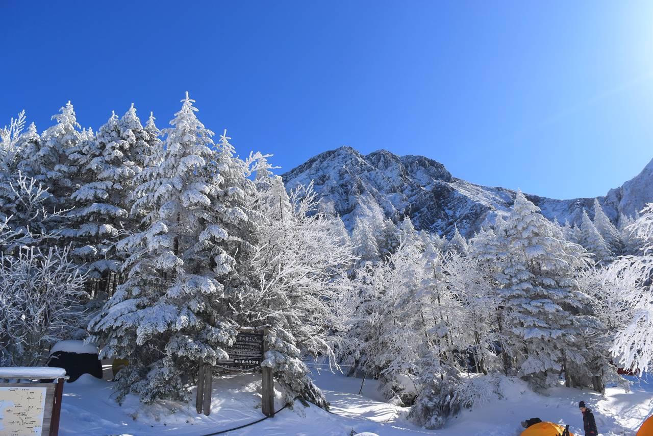 【八ヶ岳】赤岳 日帰り雪山登山