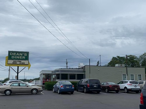 Delicious lunch at Dean's Diner on US 22. From Why Bedford, PA was the Perfect Place for a Mother/Daughter Trip
