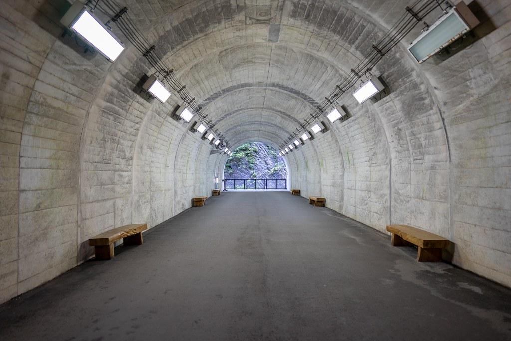 清津峡渓谷トンネル 第1見晴所