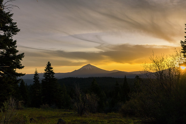 Mount McLoughlin sunrise