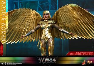 配備長達 67 公分更具氣勢的黃金飛翼! Hot Toys –  MMS578 -《神力女超人1984》神力女超人 金鷹裝甲 (豪華版) Golden Armor Wonder Woman (Deluxe Version) 1/6 比例人偶