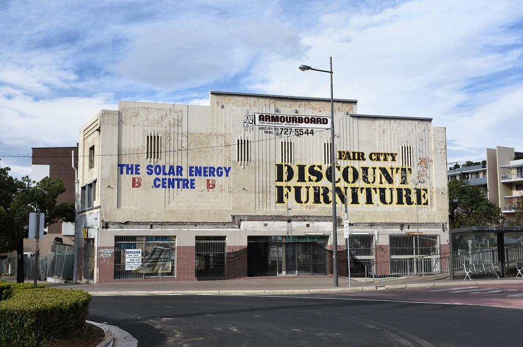 Ex Crescent Theatre, Fairfield, Sydney, NSW.