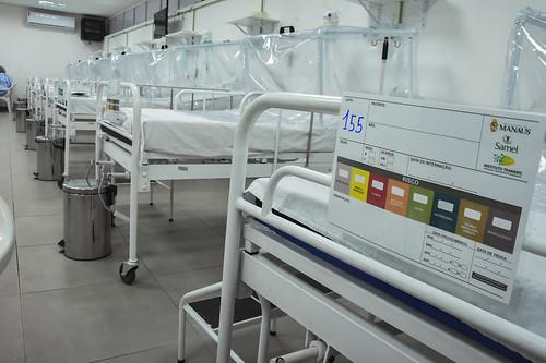 21.05.2020 Hospital de Campanha Municipal abre mais 13 leitos e chega a 156 vagas de internação