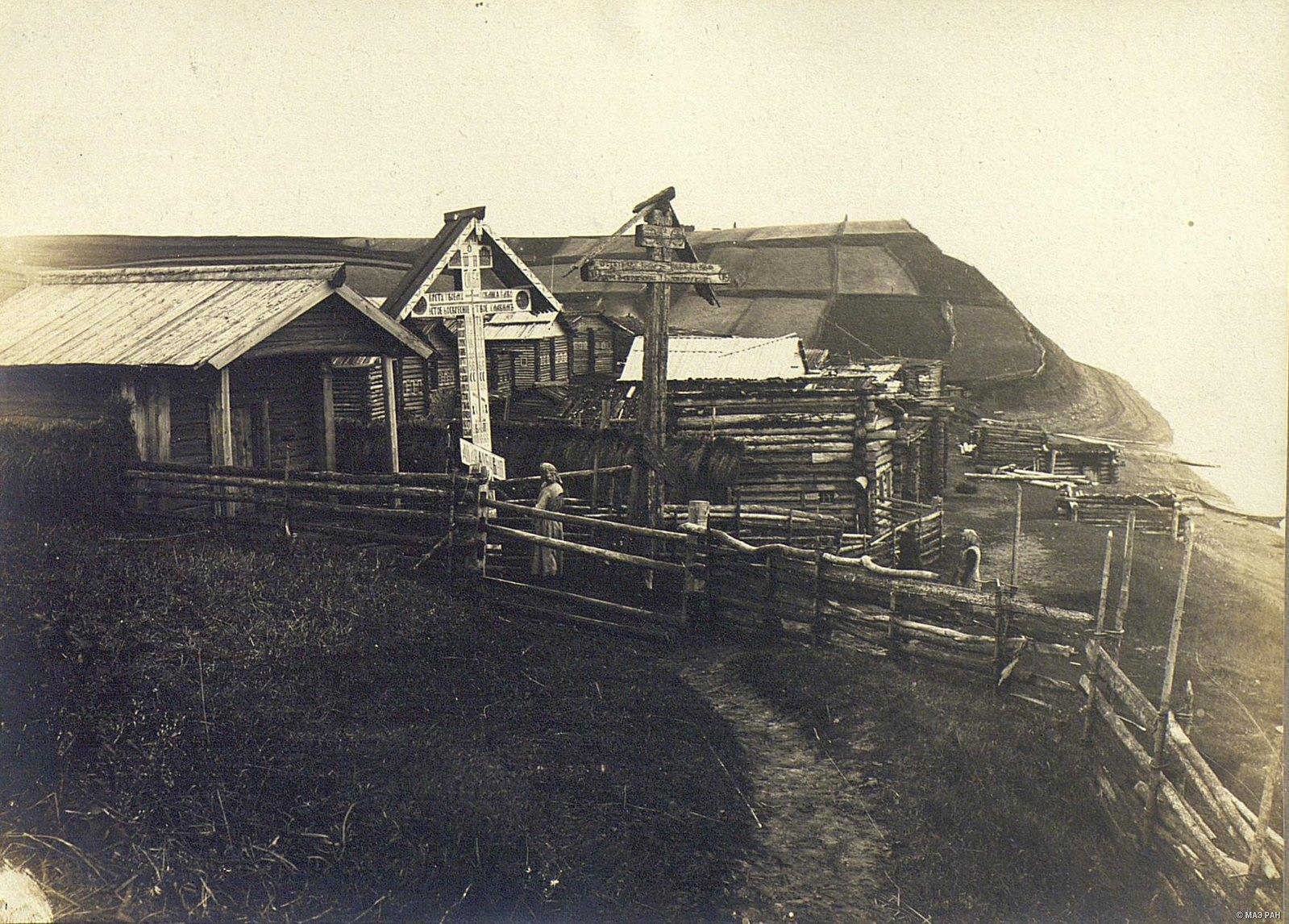 Деревня у реки Мезень (1)