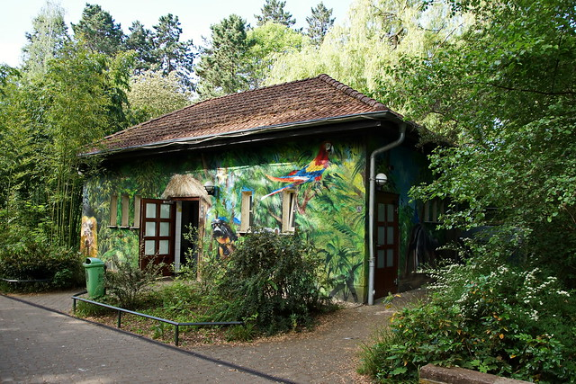 Toilette im Zoo