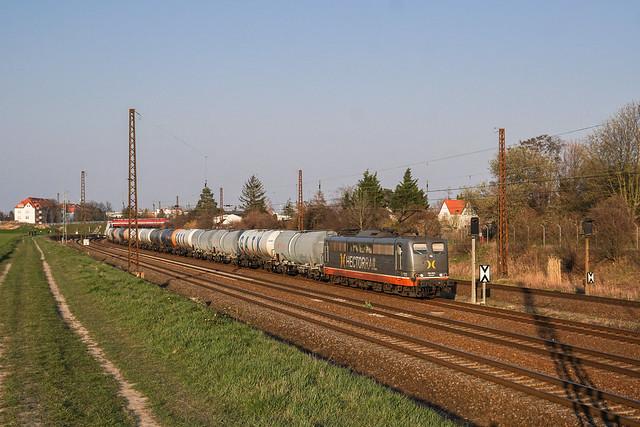 151 027 Hector Rail GmbH | Leipzig-Wiederitzsch | März 2020