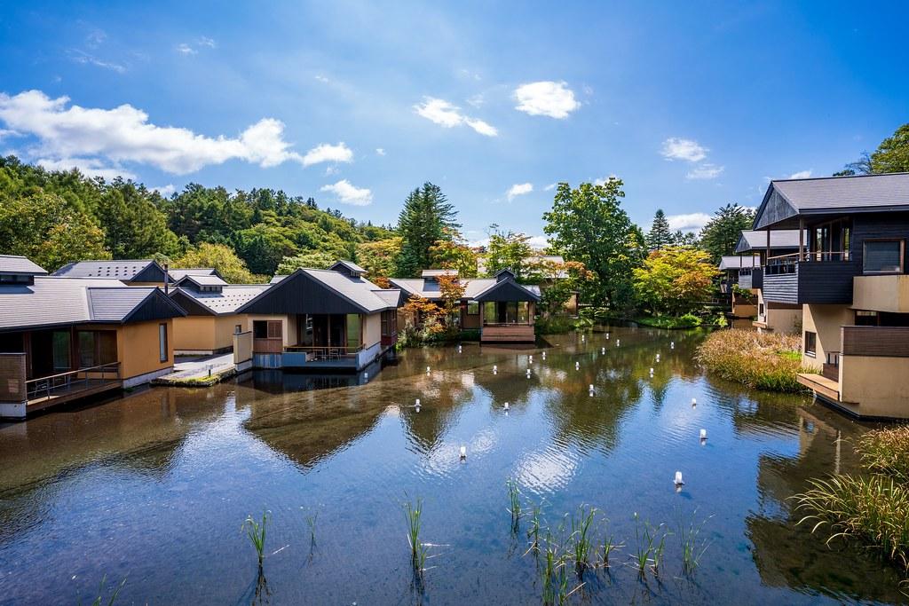 星のや軽井沢 集落風景