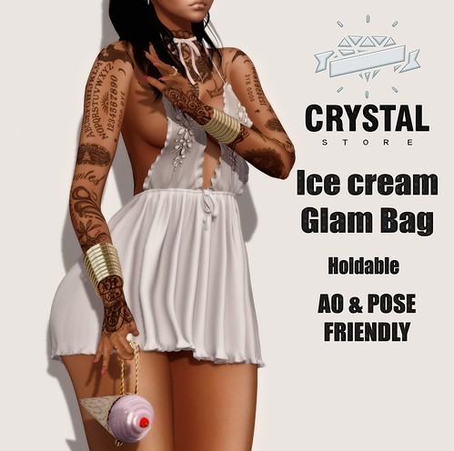 ICE CREAM GLAM BAG