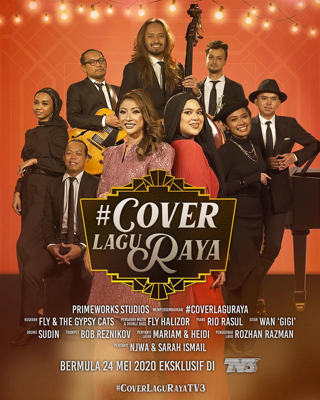 Poster Cover Lagu Raya