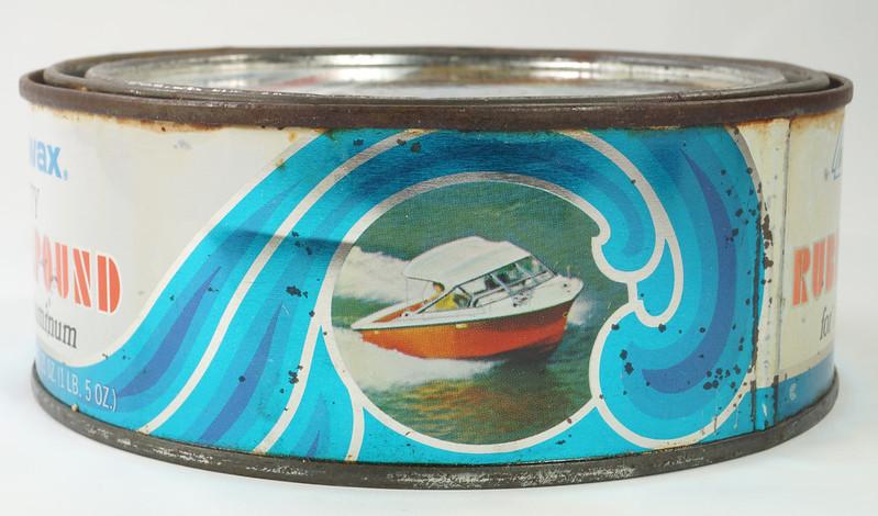 RD19749 Vintage Turtle Wax Heavy Duty Rubbing Compound for Fiberglass & Aluminum Boats 21 oz DSC05158