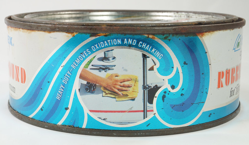 RD19749 Vintage Turtle Wax Heavy Duty Rubbing Compound for Fiberglass & Aluminum Boats 21 oz DSC05156