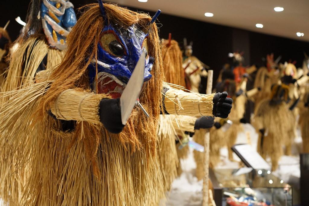 ナマハゲの種類は100以上 なまはげ館・男鹿真山伝承館