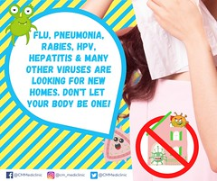 FLU, Pneumonia, Rabies typhoid, HPV, hepatitis vaccines in Chiang Mai2