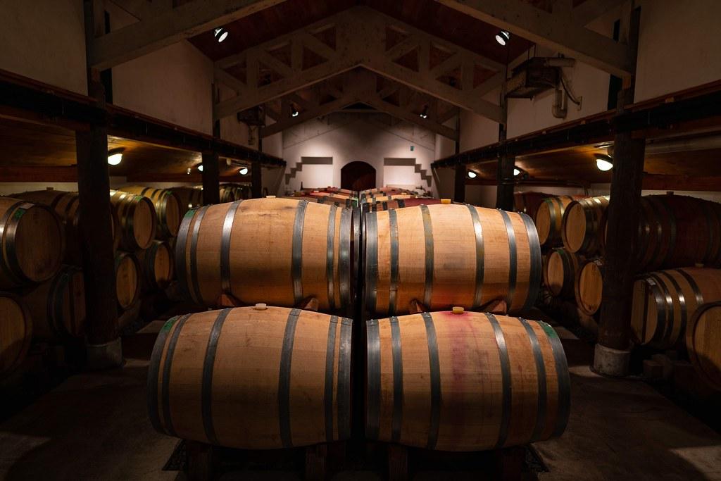 カーブドッチ ワイナリーツアー 醸造所の見学