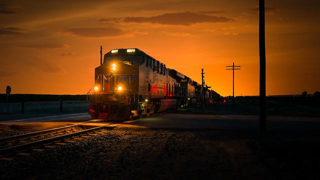 Night Train through the Heartland