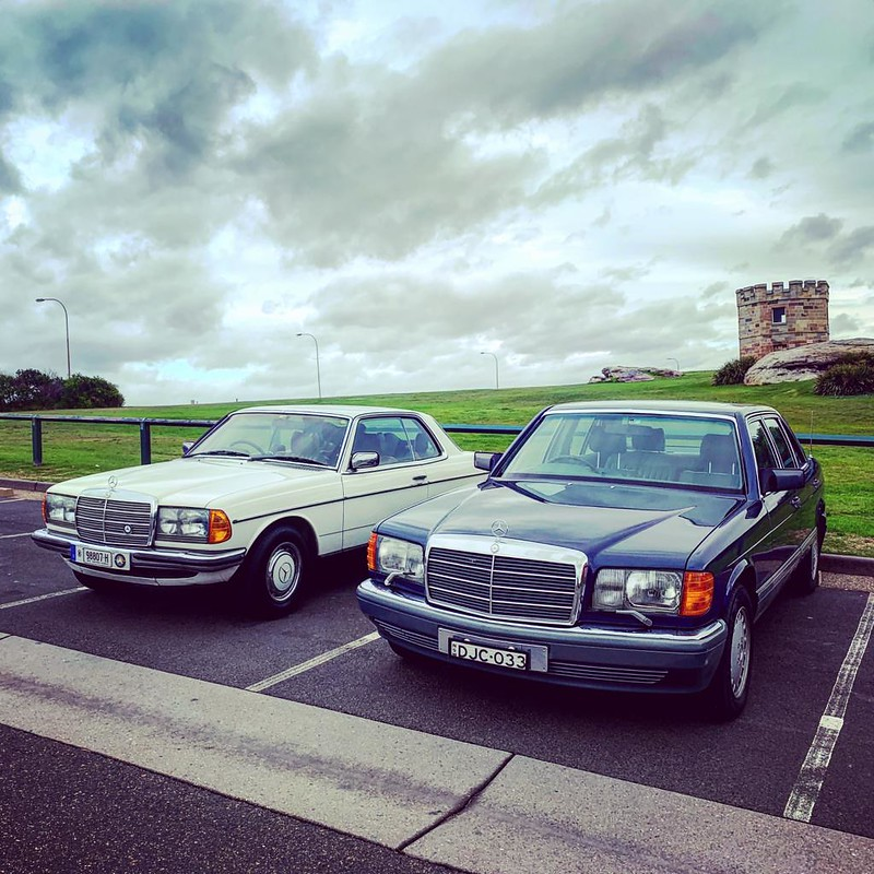 560SEL and 280CE