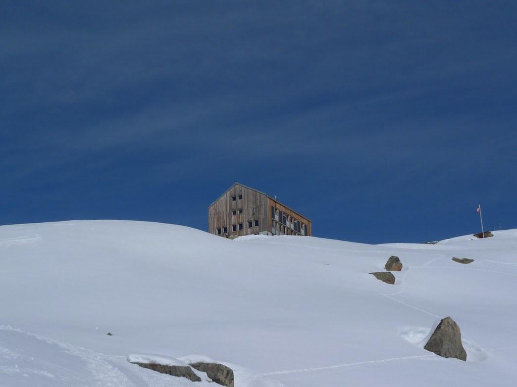 Keschhütte / Chamanna digl Kesch Albula Alpen Švýcarsko foto 06