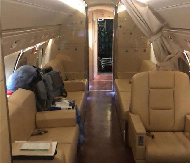 5624 Health Ministry sends a private plane for child's hospital appointment 03