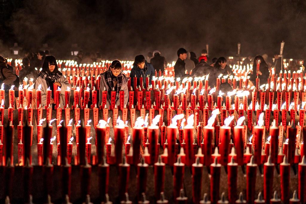 神幸祭 心願成就の紅い海 宝徳山稲荷大社