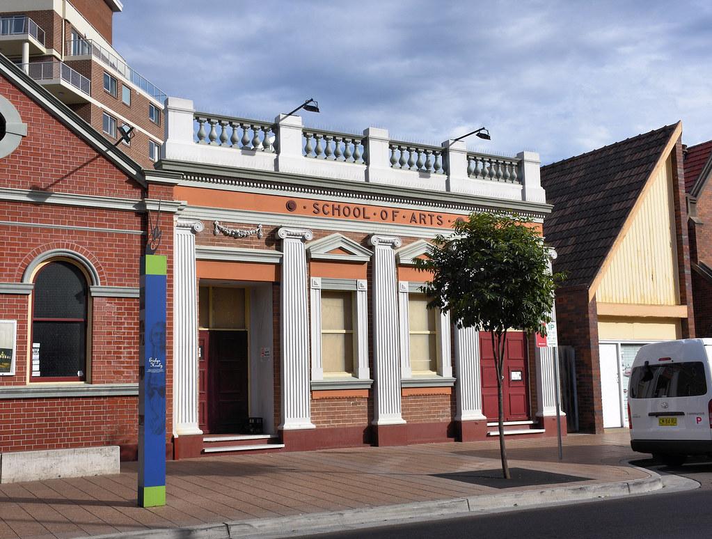School of Arts, Fairfield, Sydney, NSW.