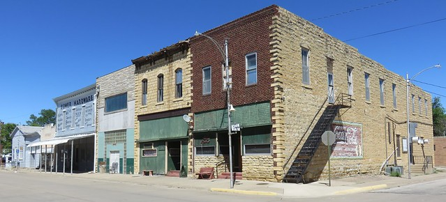 Storefront Block (Wilson, Kansas)