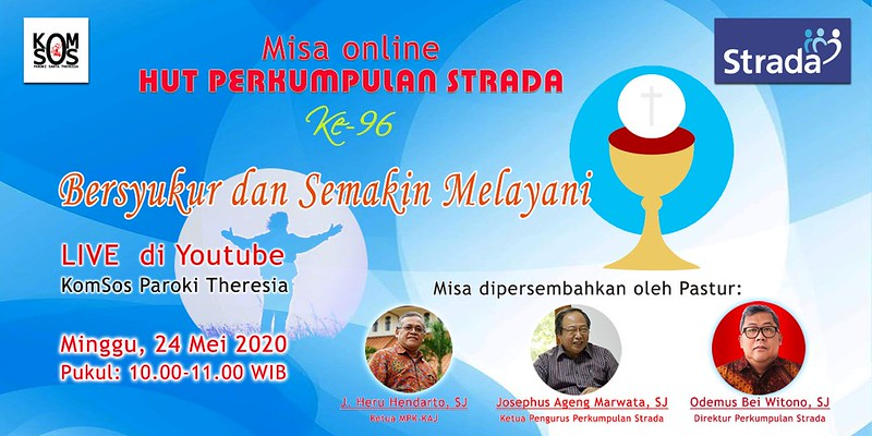 Misa Live Streaming : Perayaan HUT Strada Ke-96