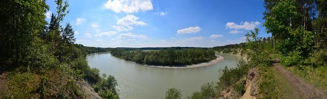 Mühldorf - Flossinger Innkurve Panorama