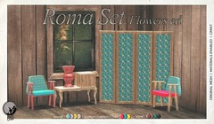 Roma Set Flowers Edition. Exclusive for Flourish (May 23rd)