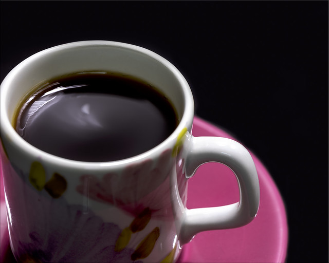 Coffee cup handle:  HMM