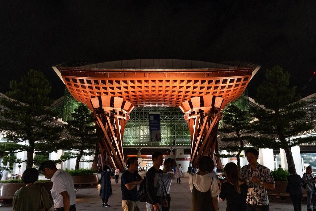 金沢駅の建築美 鼓門/もてなしドーム