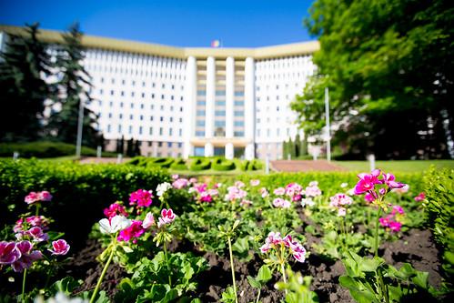 22.05.2020 Clădirea Parlamentului Republicii Moldova