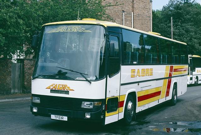 TFE1R Dennis Dorchester/Berkhof - Eagre Coaches, Gainsborough
