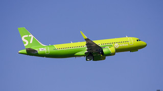 A320-271Neo S7 Airlines F-WWBE / VQ-BSD / msn10016
