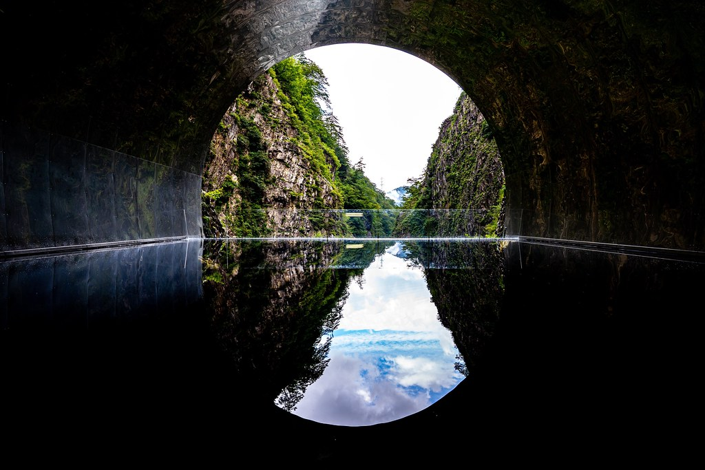 清津峡渓谷トンネル 旅行記