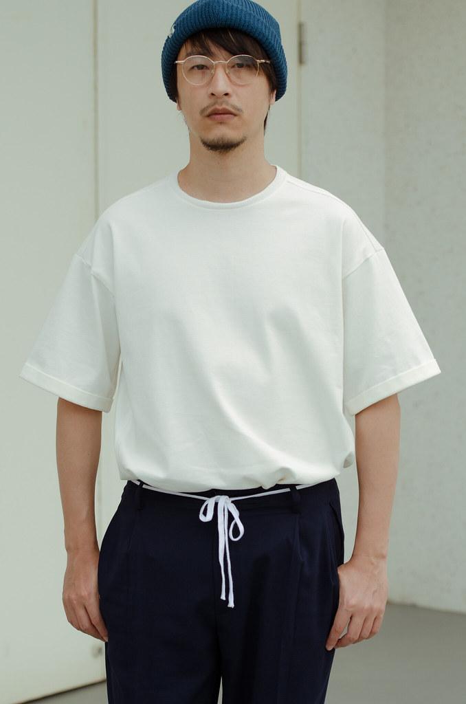 米蘭棉捲袖T恤