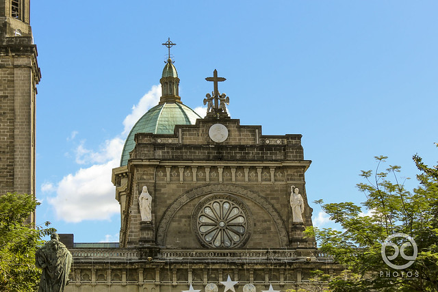 Intramuros: Manila Cathedral (Close Detail)