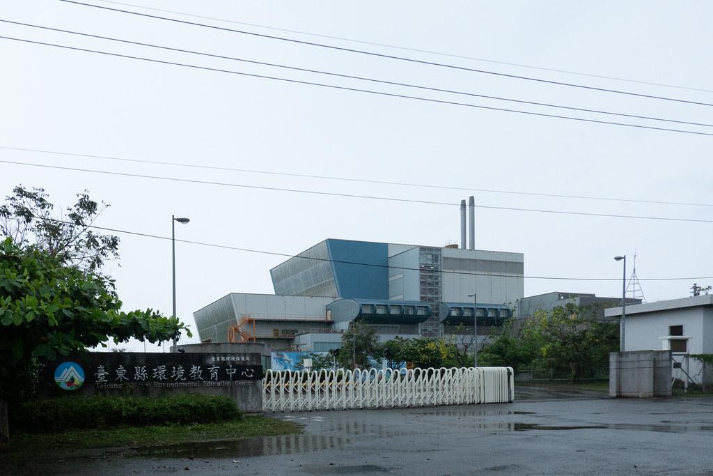 台東焚化爐未來將收取台東全境的一般事業廢棄物和家戶垃圾。吳宜靜 攝。